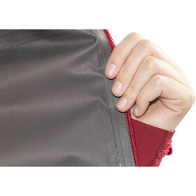 Black Diamond Liquid Point Shell Jacket Damen maroon